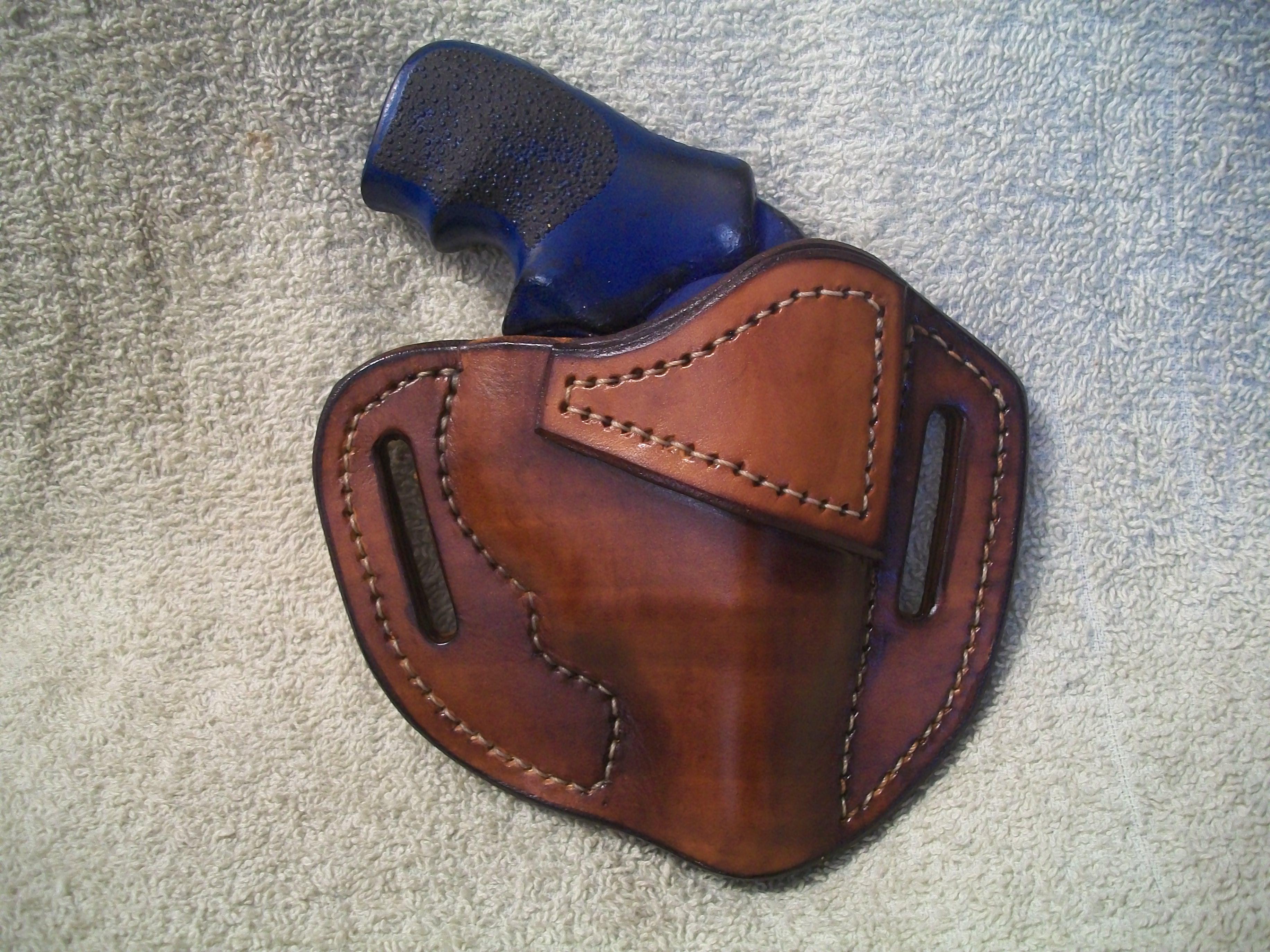 Ruger lcr owb belt holster jackson leatherwork llc