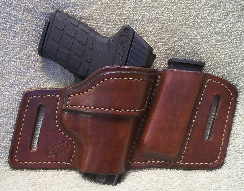 Leather owb mag keltec pf9 jackson leatherwork llc