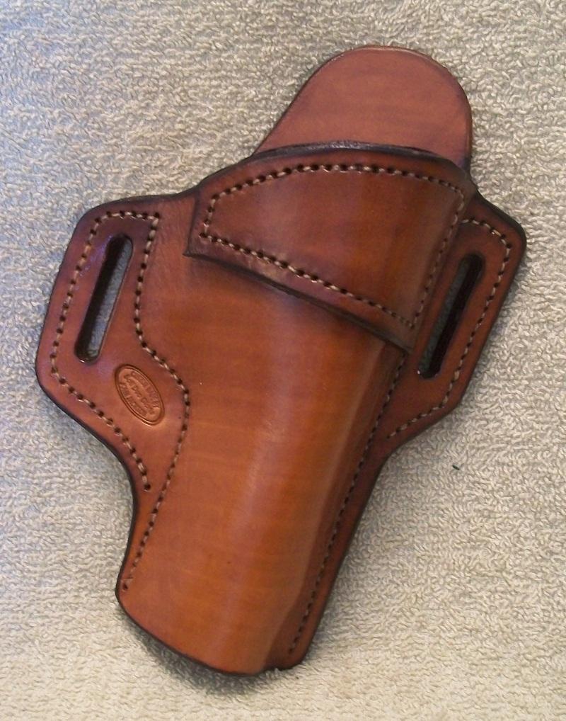 leather owb belt holster s w 4506 jackson leatherwork llc