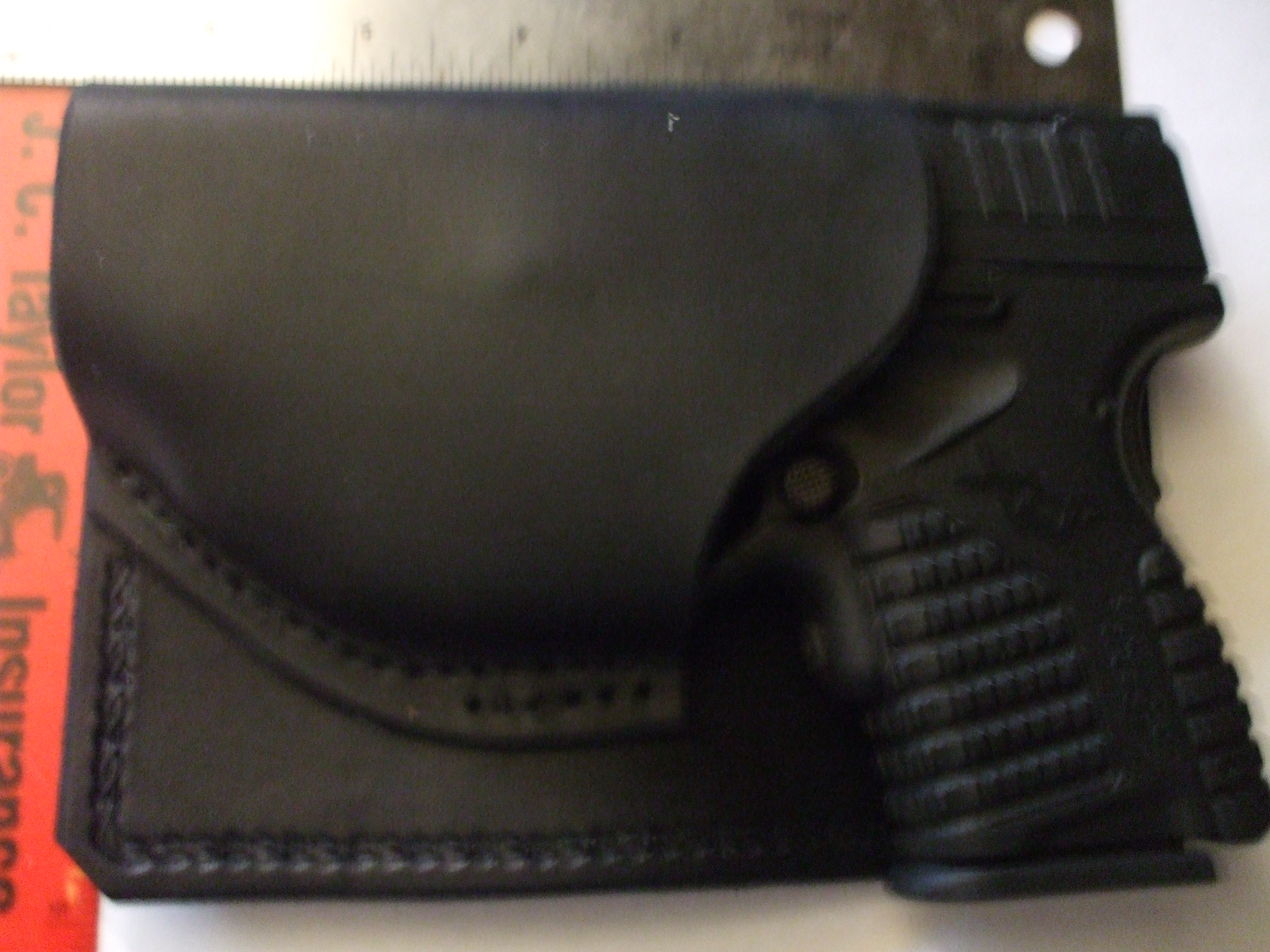 Wallet holster for Springfield Armory XDs  45 with Crimson