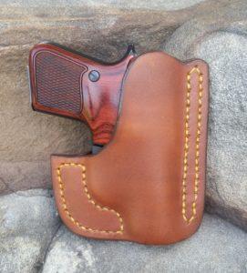 Custom Leather Beretta Jetfire Pocket holster - Jackson
